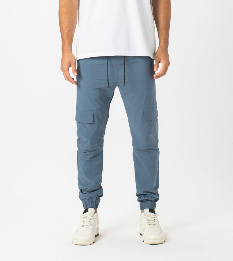 Sureshot Tech Cargo Jogger Dull Blue