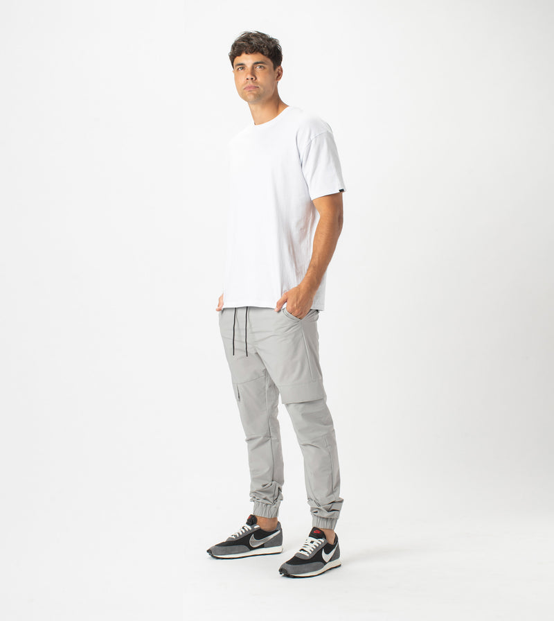 Sureshot Tech Cargo Jogger Ice Grey