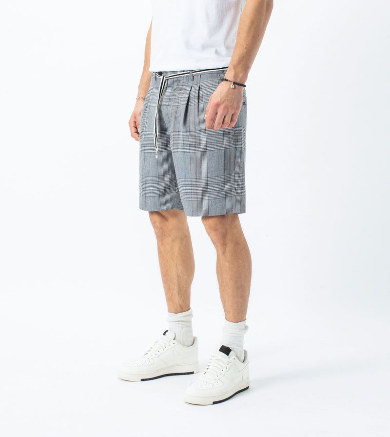 Tailo Plaid Short Grey - Sale