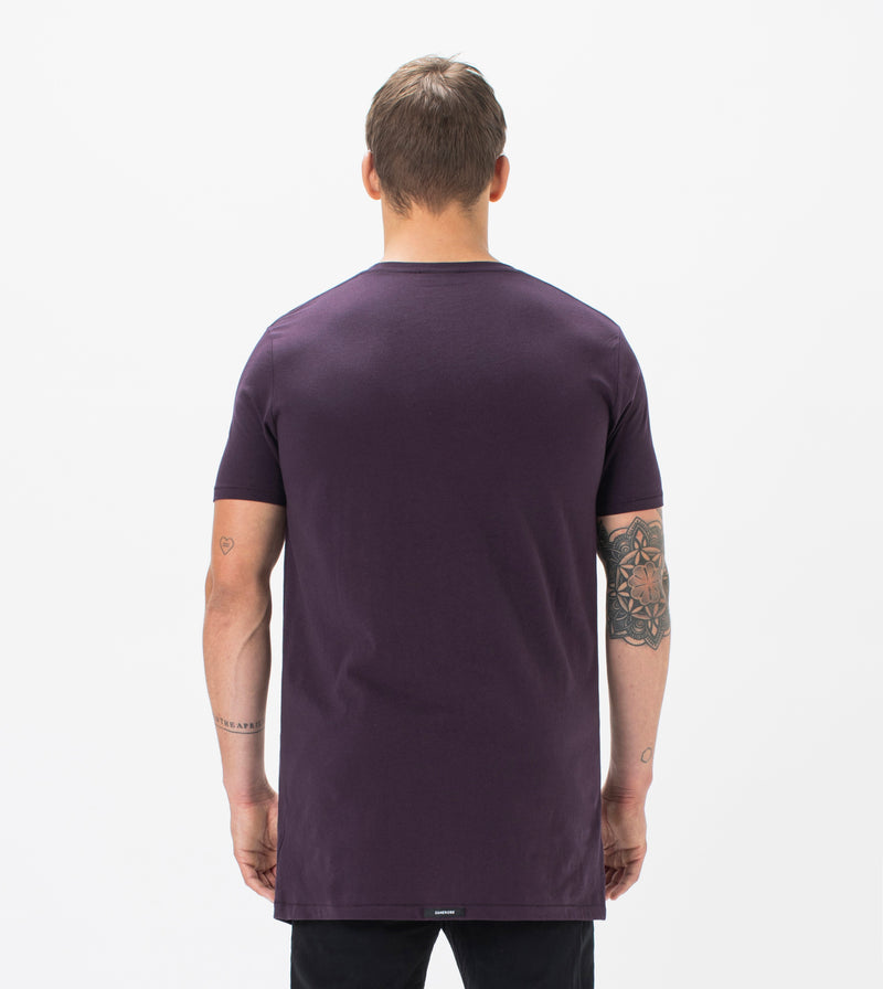 Tall Tee Dk Grape