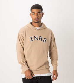 Team Rugger Hood Sweat Beige