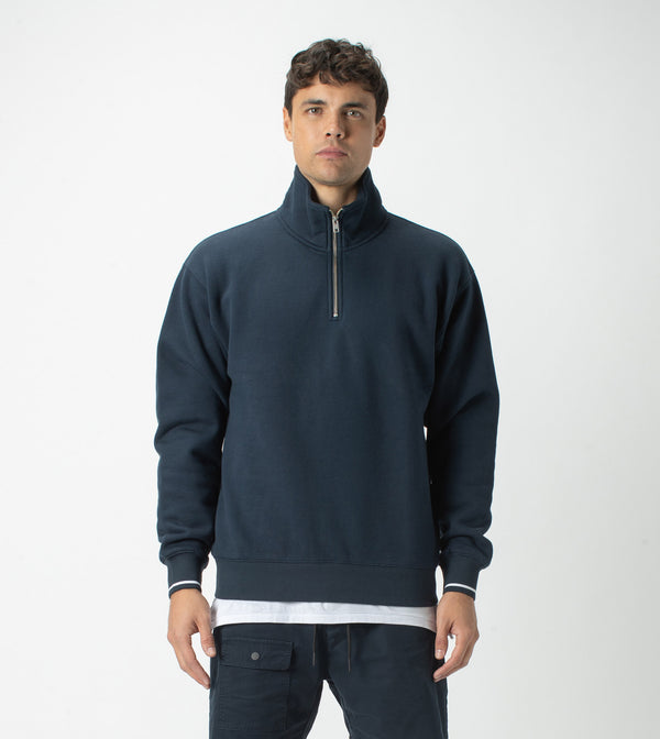 Track Zip Sweat Ink - Sale