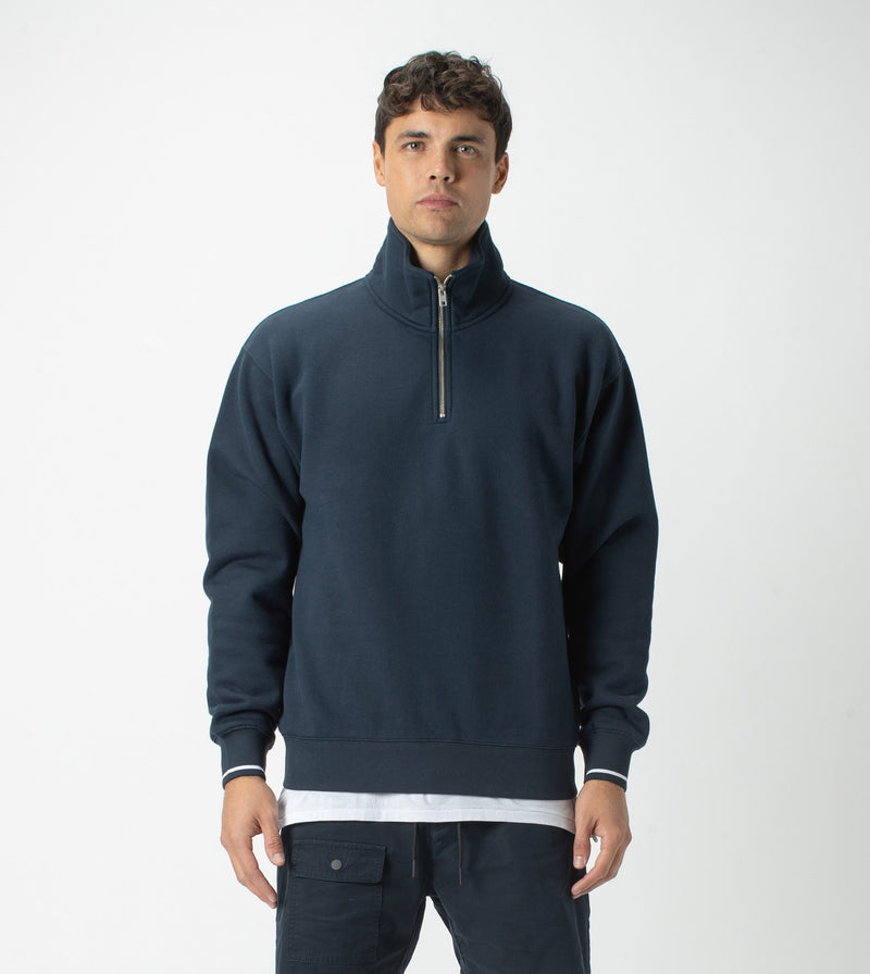 Track Zip Sweat Ink