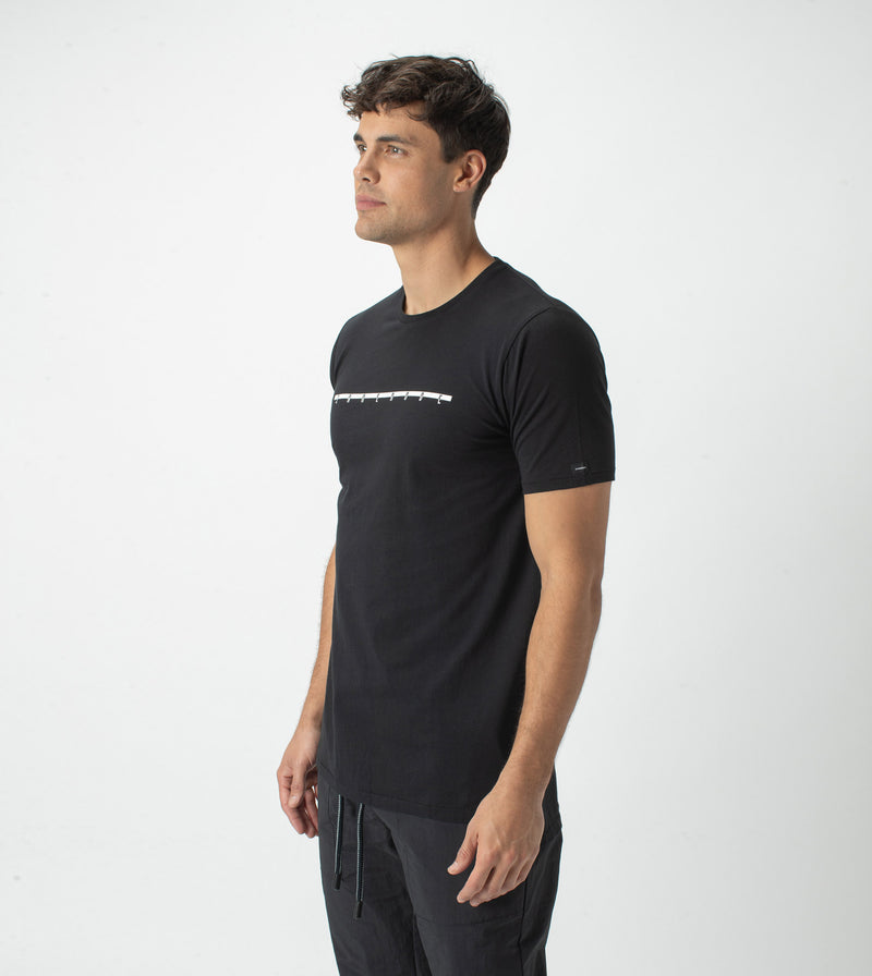 Tracked Flintlock Tee Black