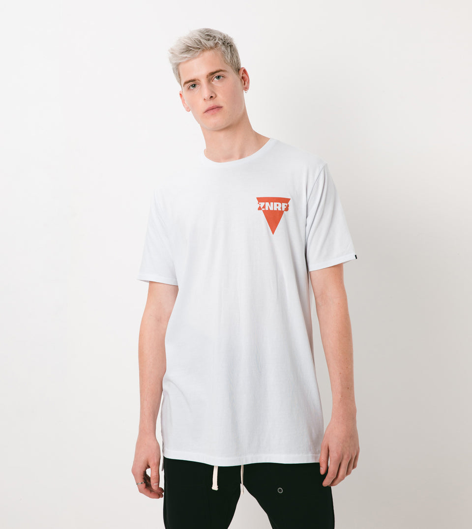 Trifecta Flintlock Tee White - Sale
