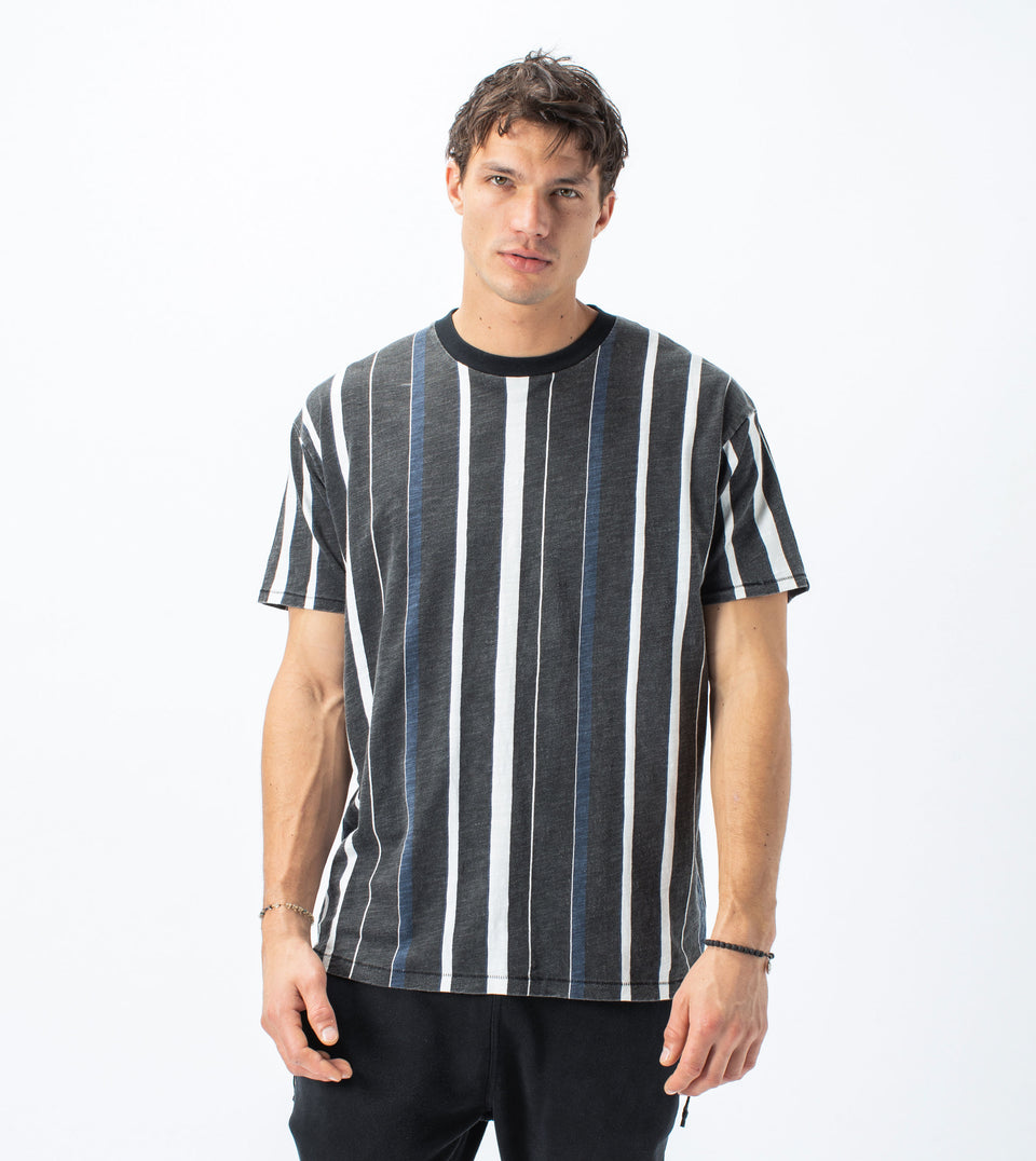 Triumvirate Box Tee Black/Milk