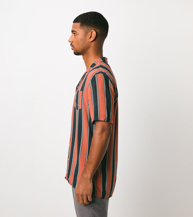 Tunnel SS Shirt Vintage Black/Clay - Sale