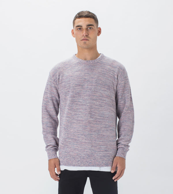 Twisted Crew Knit Sherbet