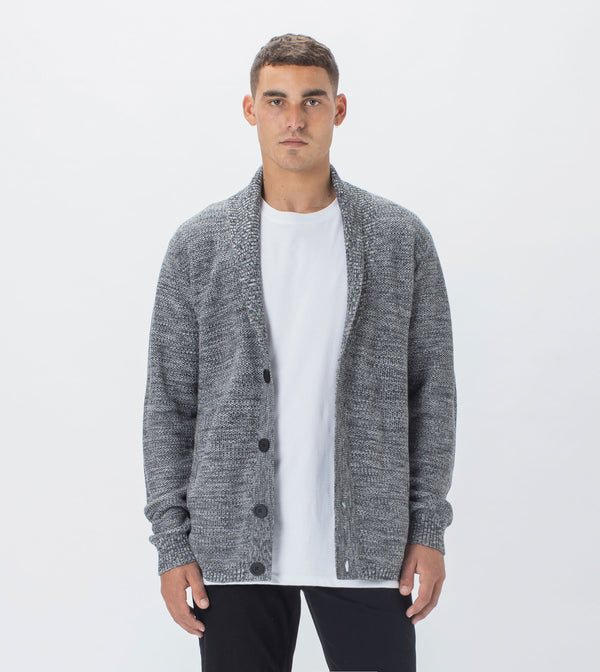 Twisted Harlem Cardigan Ash