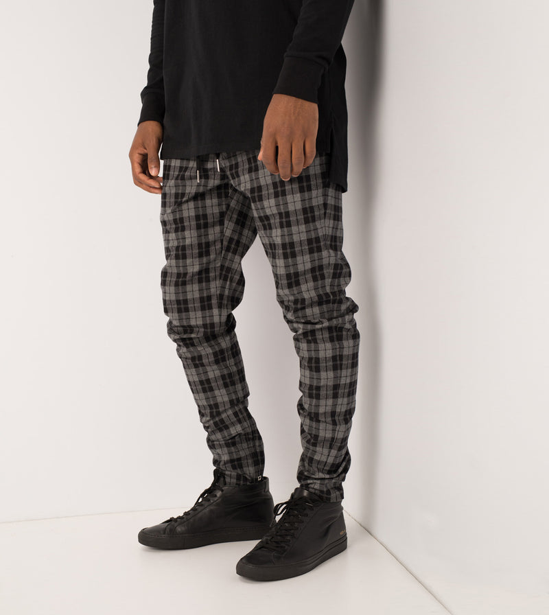 Unblockshot Chino Black/Grey Marle