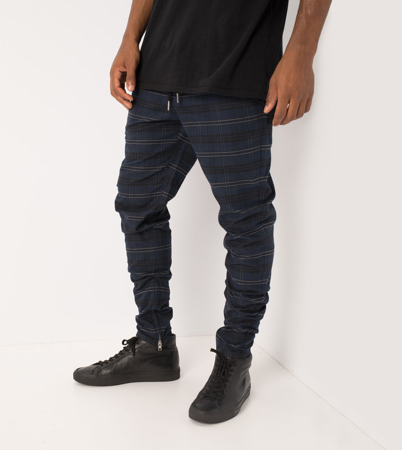 Unblockshot Chino Navy Check
