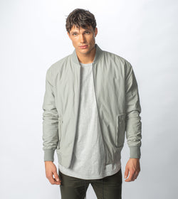 Utility Bomber Jacket Cement