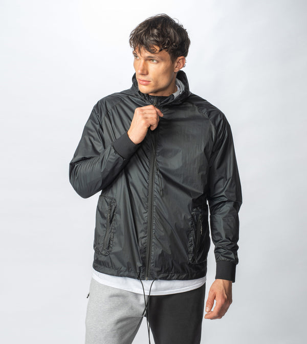 Utility Storm Spray Jacket Black