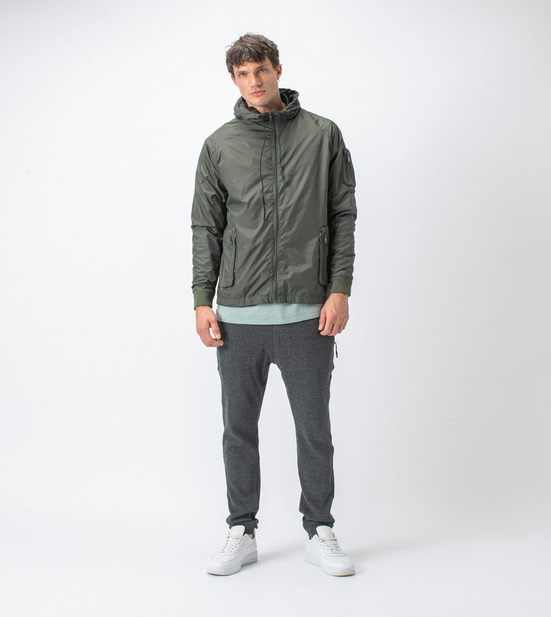 Utility Storm Spray Jacket Dk Army - Sale