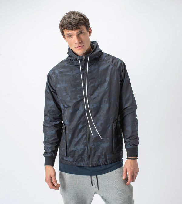 Utility Storm Spray Jacket Midnight - Sale