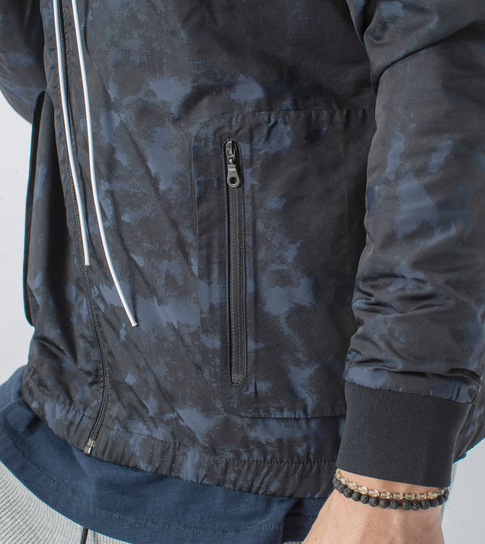 Utility Storm Spray Jacket Midnight