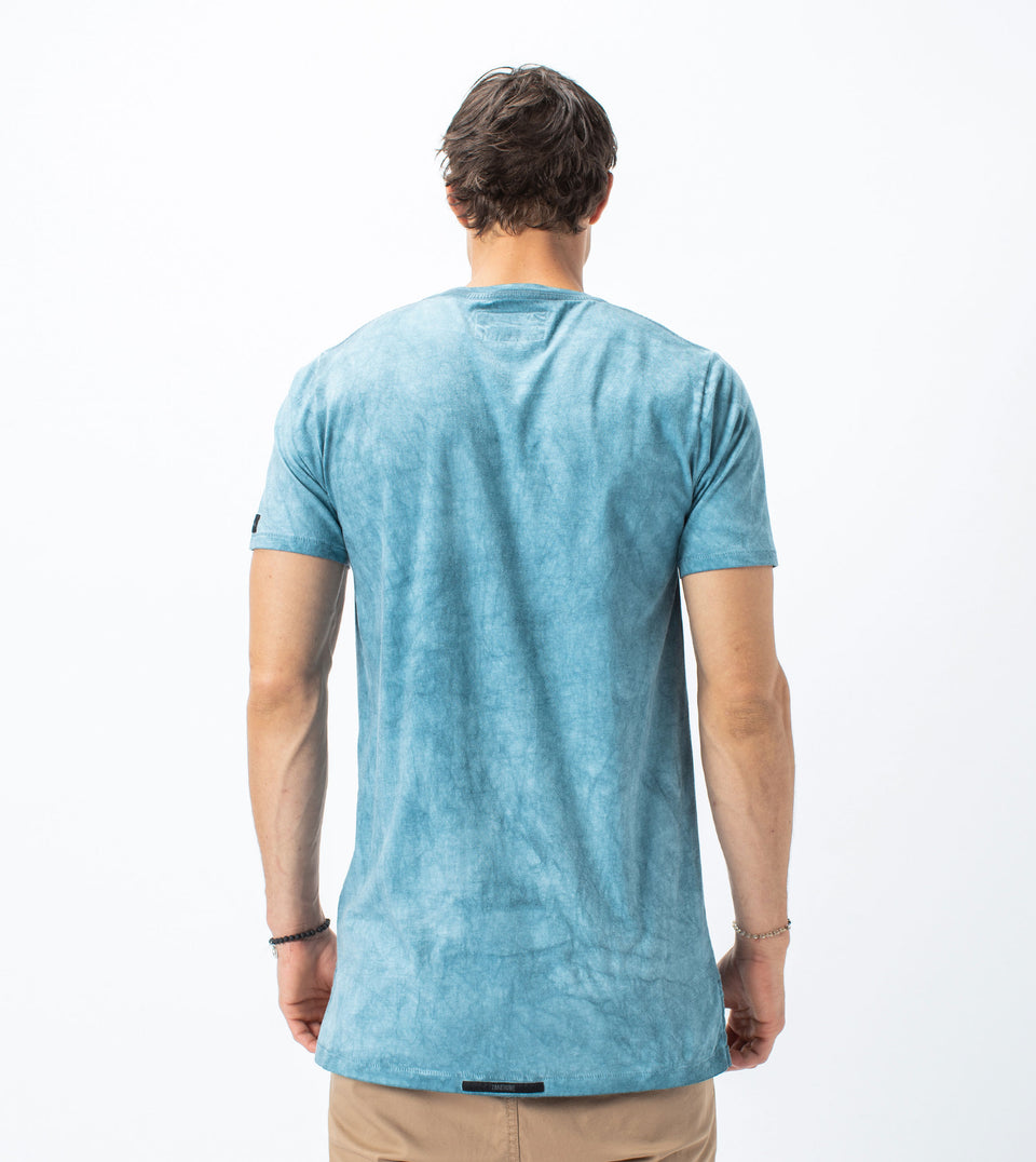 WO Flintlock Tee Ocean - Sale