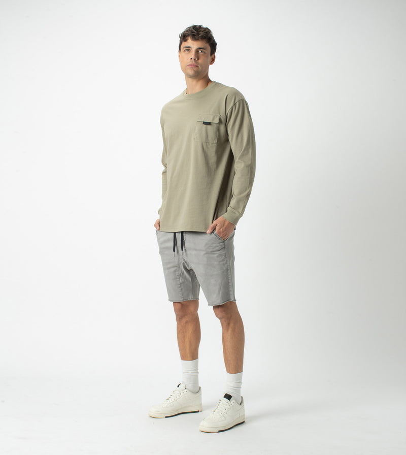 Workwear Box LS Tee Moss