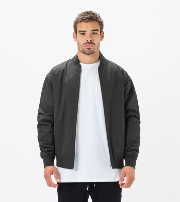 Zane Bomber Jacket Black