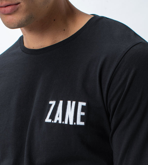 ZANE Flintlock LS Tee Black - Sale