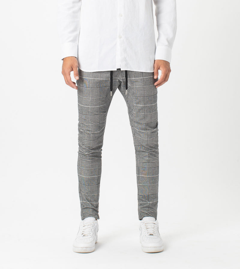 Check Sureshot Chino Grey