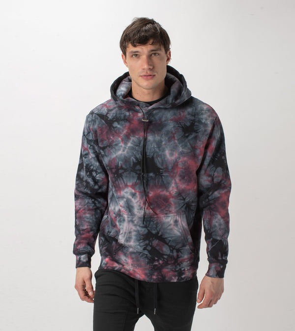 Zebediah Lowgo Hood Sweat Black/Apple