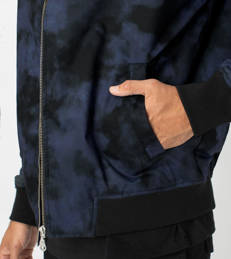 Zane Bomber Jacket Black/Ink