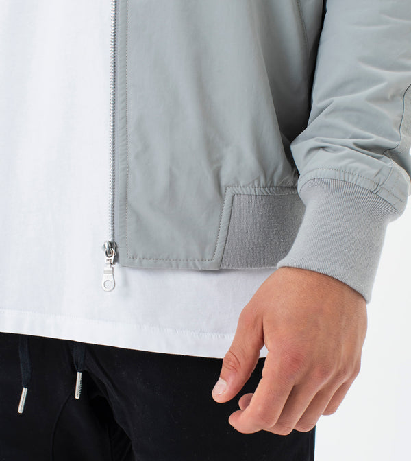 Zane Bomber Jacket Cement