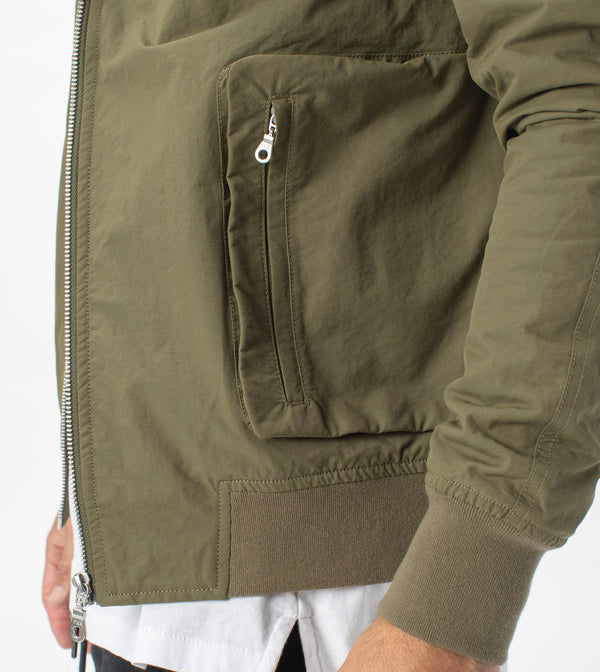Utility Bomber Jacket Military - Sale