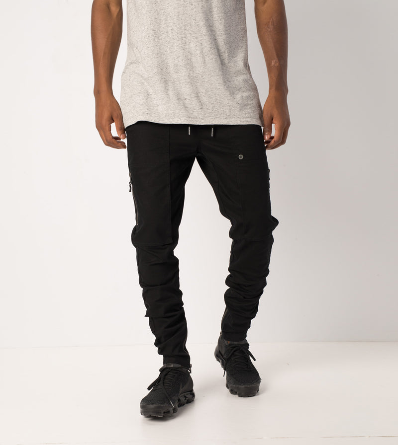 Blockshot Chino Black