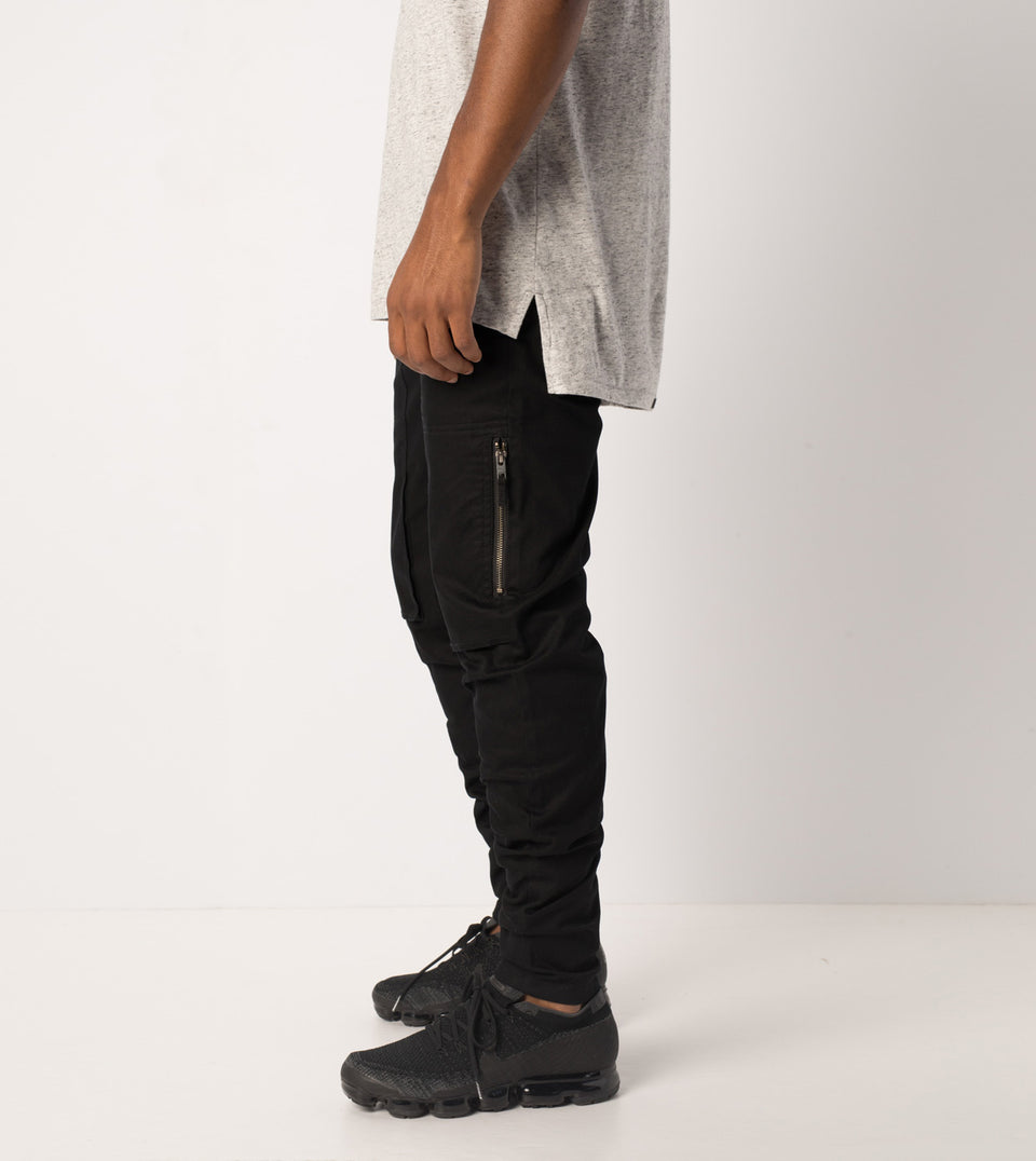 Blockshot Chino Black - Sale