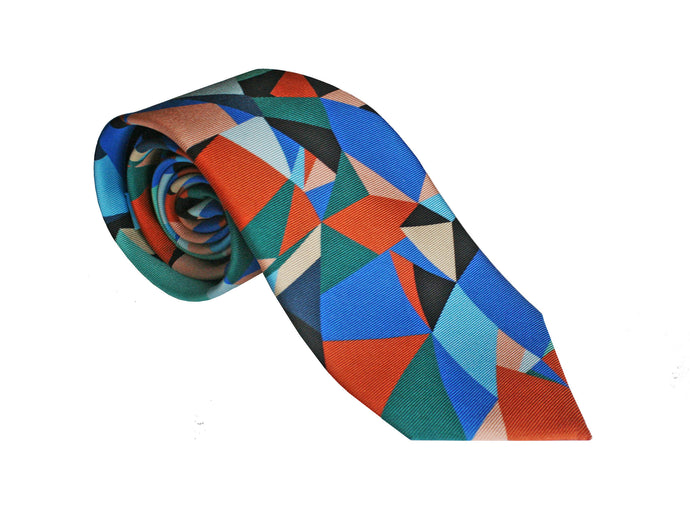 The Spectrum Tie - Cobalt