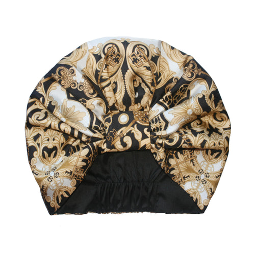 The Baroque Silk Turban