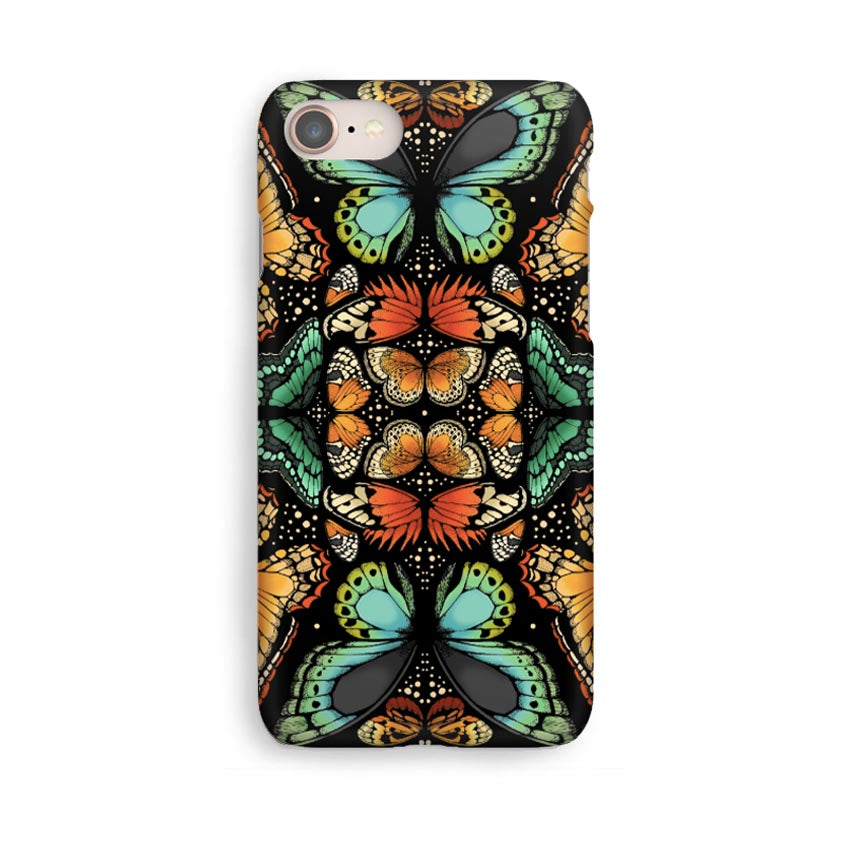 Luxury Phone Case - Tropical Butterfly Orange