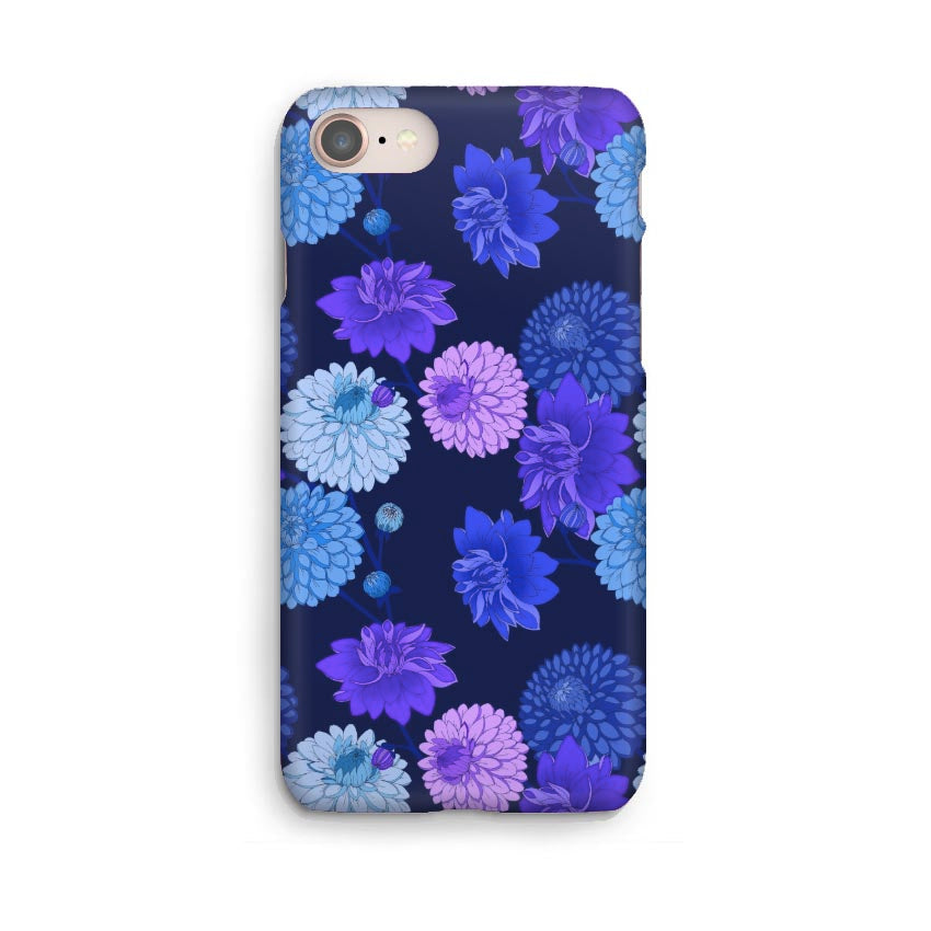 Luxury Phone Case - Dahlia Indigo