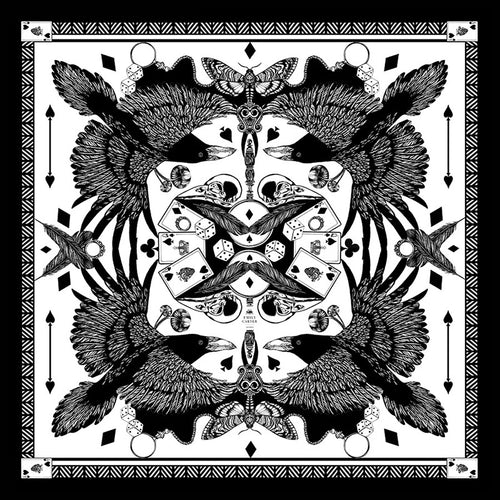The Joker & Jackdaw Silk Scarf | 45x45cm