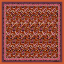 The Paisley Scarf - Mauve | 90x90cm - Emily Carter London