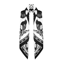 The Mysterious Magpie Silk Scarf | 90x90cm - Emily Carter London