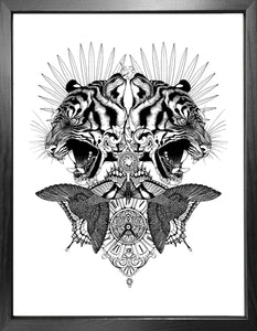'Baroque Tiger' Fine Art Print