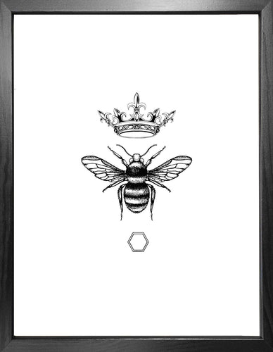 'Honey Queen Bee' Fine Art Print
