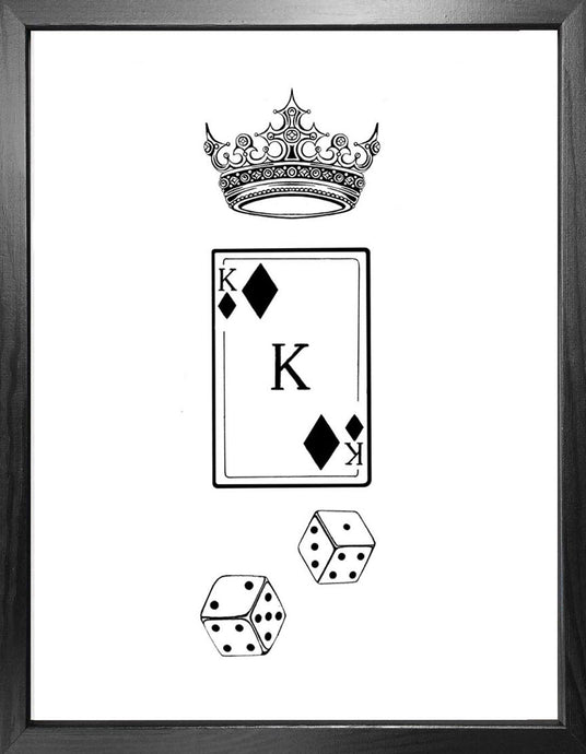 'King of Diamonds' Fine Art Print