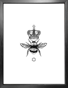 'The Queen Bee' Fine Art Print