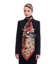 The Leopard Baroque Twilly Scarf