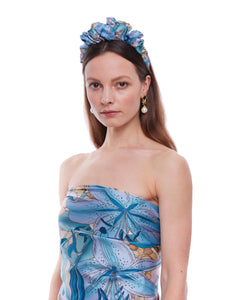 The Lily Silk Crown Headband