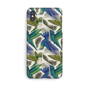 Luxury Phone Case - Tropical Hummingbirds