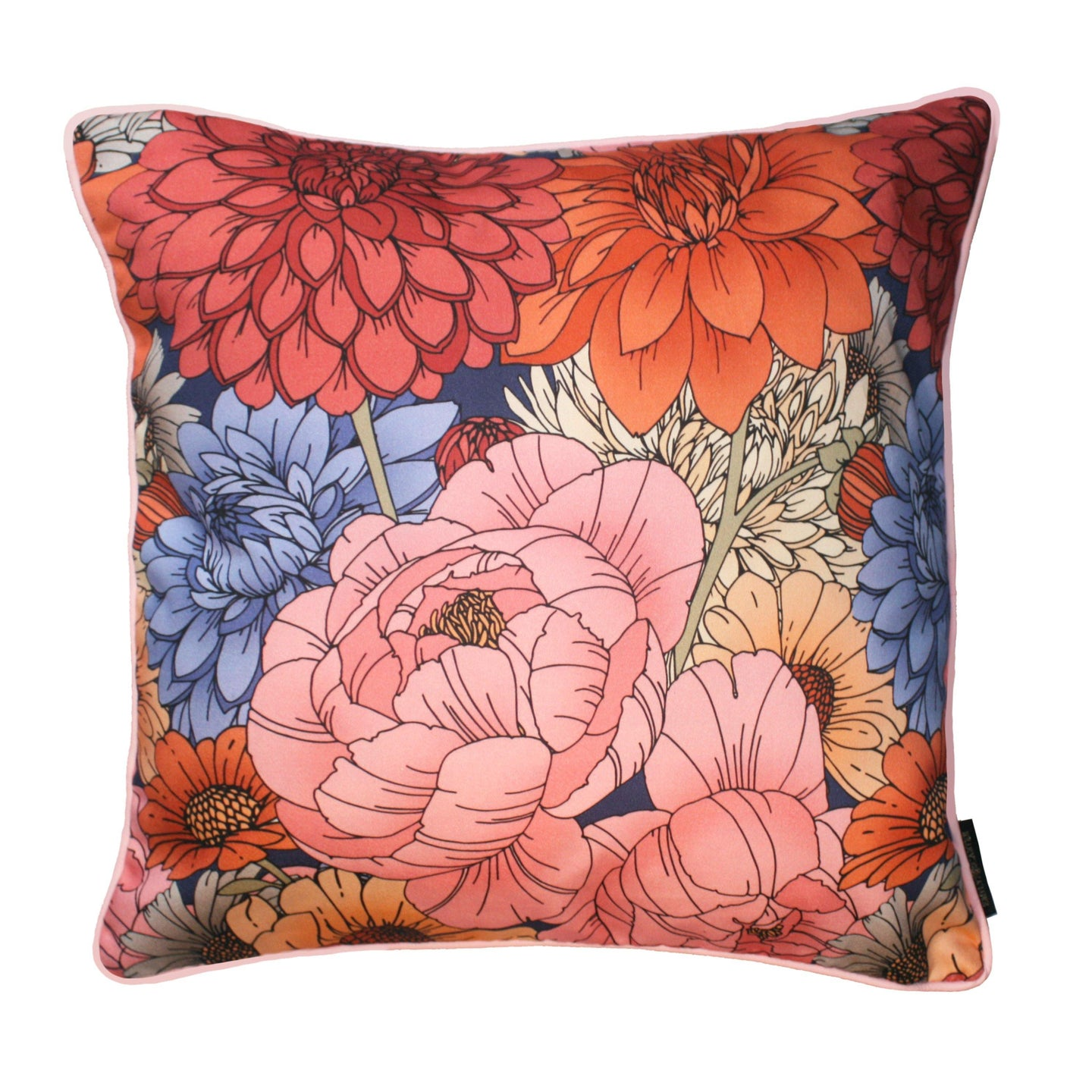 The Antique Floral Cushion | 45x45cm - Emily Carter London