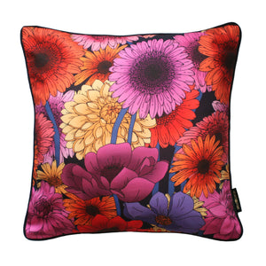 The Dahlia Garden Cushion | 45x45cm - Emily Carter London
