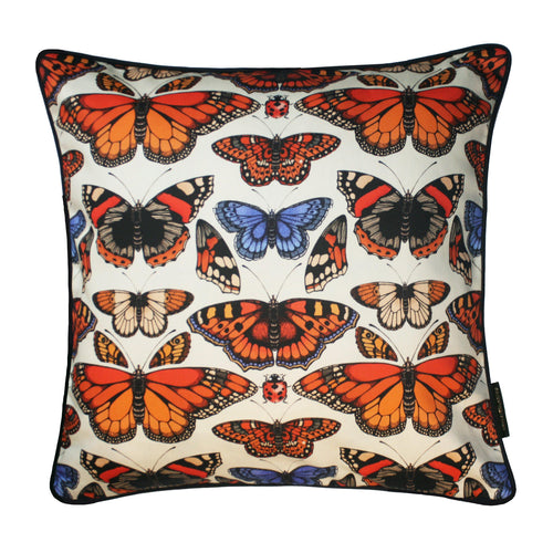 The British Butterfly Cushion | 45x45cm - Emily Carter London