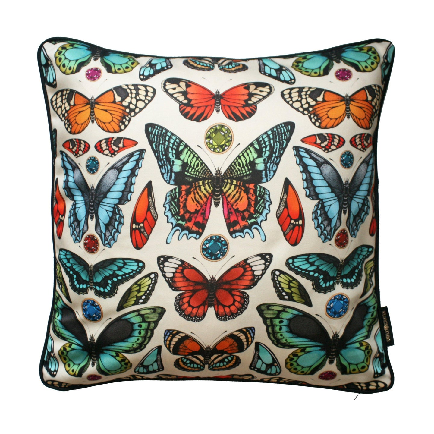 The Tropical Butterfly Cushion | 45x45cm - Emily Carter London
