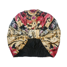 The Leopard Baroque Silk Turban